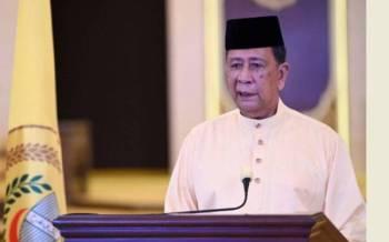 Sultan Sallehuddin ketika bertitah merasmikan pembukaan Mesyuarat Pertama Penggal Keempat, Dewan Undangan Negeri (DUN) Kedah ke-14 secara sidang video pada Isnin.