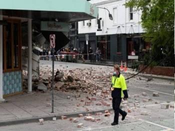 Tiada rakyat Malaysia terjejas dalam kejadian gempa berkekuatan 6.0 pada skala Richter yang melanda berhampiran Melbourne, Victoria, Australia pada Rabu.
