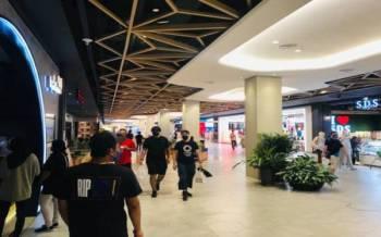 Pengunjung di salah sebuah pusat beli belah di bandar raya ini dilihat semakin penuh selepas pengumuman Johor beralih ke Fasa 2 PPN.